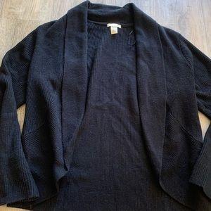 H&M black cardigan